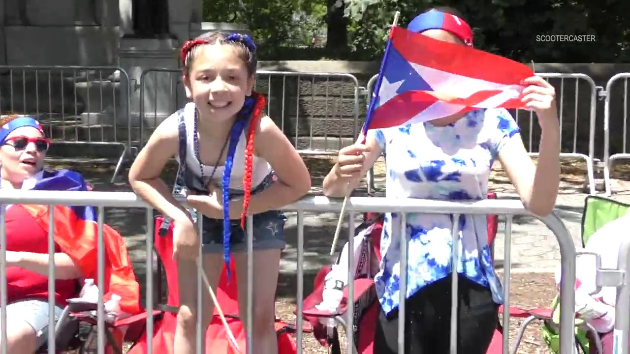 Singer Ricky Martin Leads Puerto Rican Day Parade Through NYC