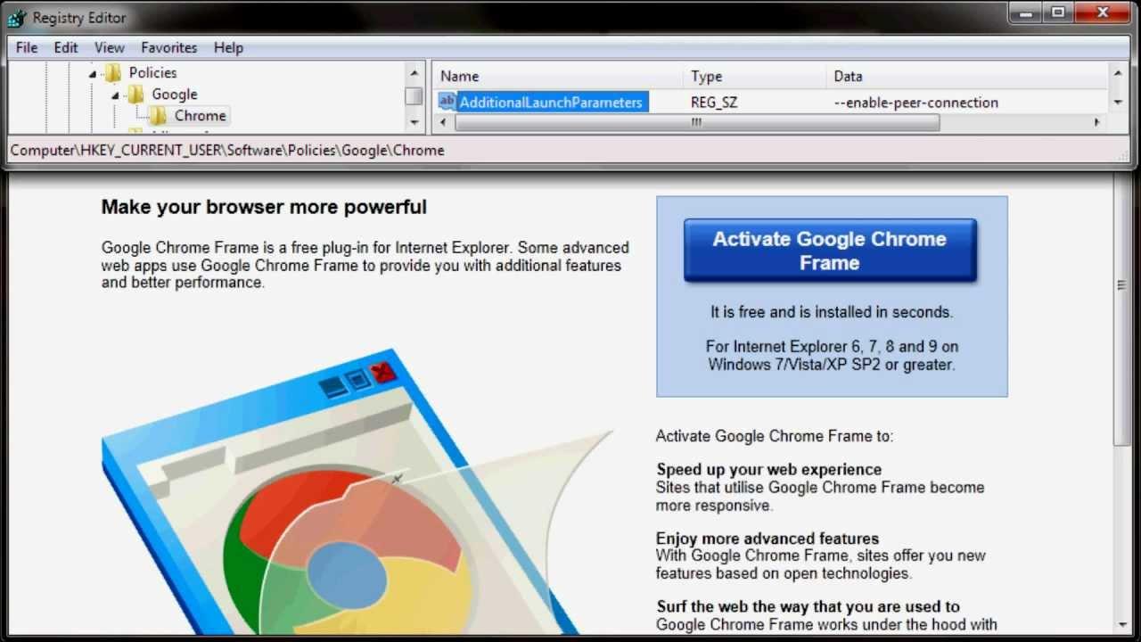 WebRTC in Internet Explorer with Chrome Frame | Sam Dutton's blog