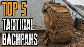 Top 5 Best Tactical & Survival Backpack for Military - Outdoor