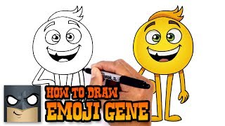 How to Draw Gene | Emoji Movie