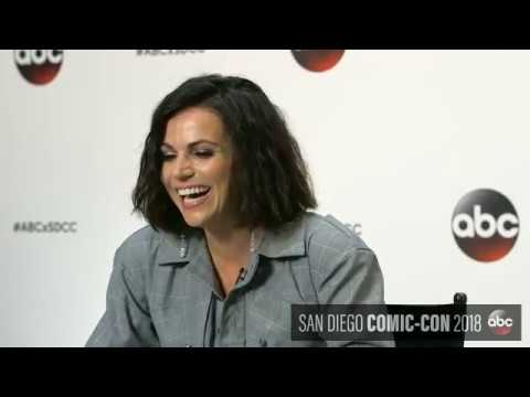Once Upon a Time Facebook LIVE with Lana Parrilla at SDCC 2018