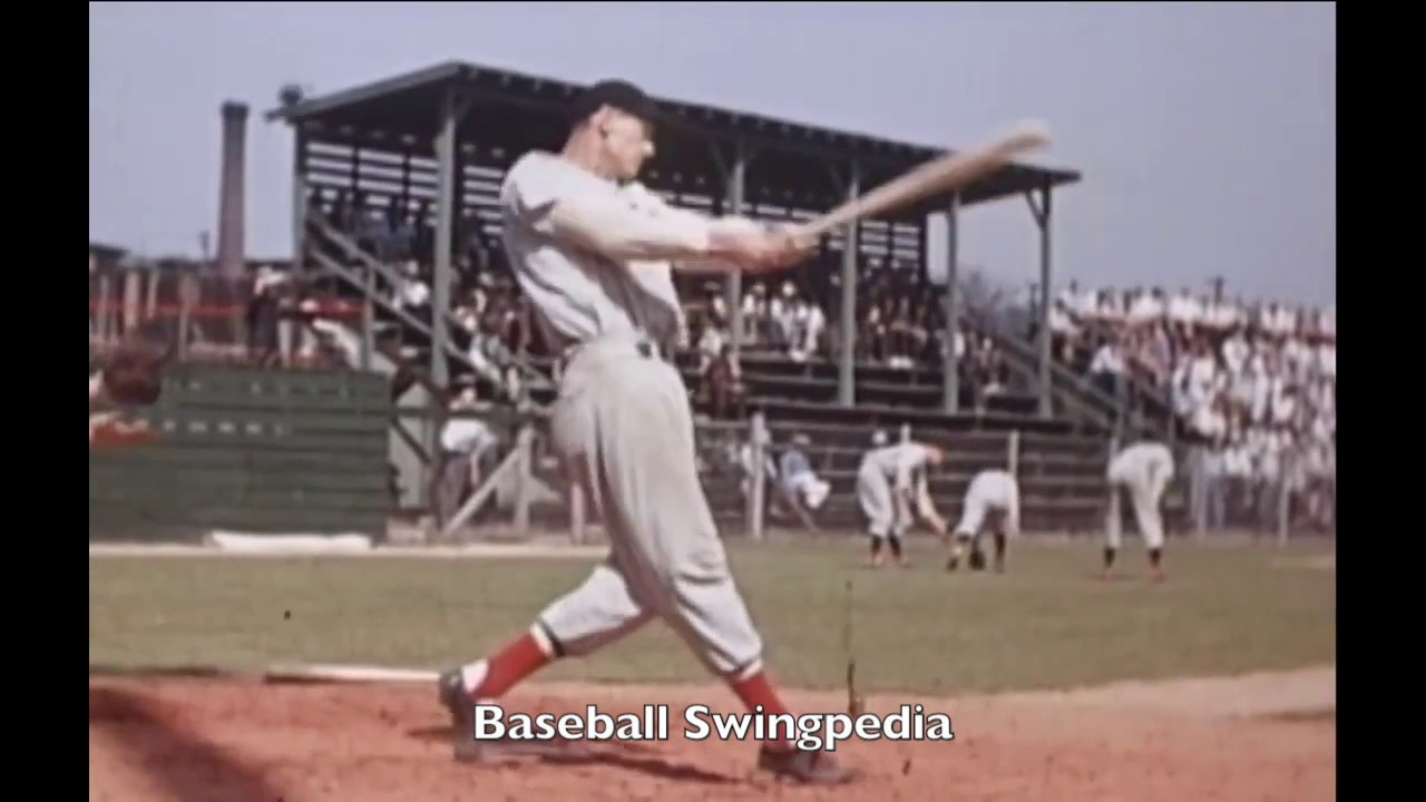 Ted Williams Swing Slow Motion Year 1 Youtube