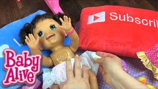 Baby Alive Real as Can Be Doll Details