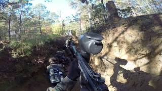 November 19, 2016 (Paintball Game): Final Advance Forwards.