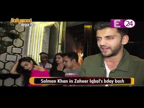 Salman Khan in Zaheer Iqbal's bday bash Mp3
