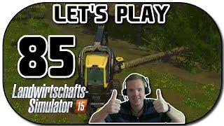 Let's Play Landwirtschafts Simulator 2015 Part 85 Der Harvester zahlt sich aus