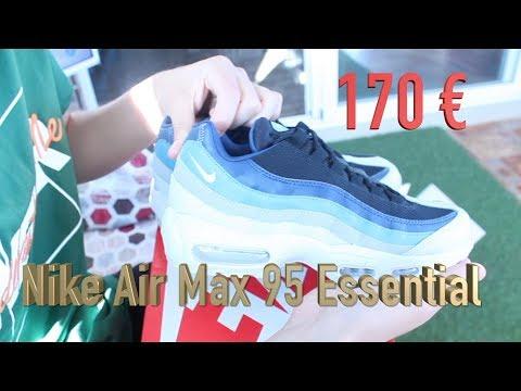 Nike Air Max 95 Noise Aqua On Feet Sneaker Review