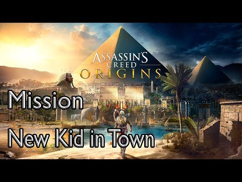 Assassin's Creed Origins Mission New Kid In Town