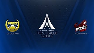 Elevate League Tier 2 | Week 2 | Agility vs. Synergy Gold