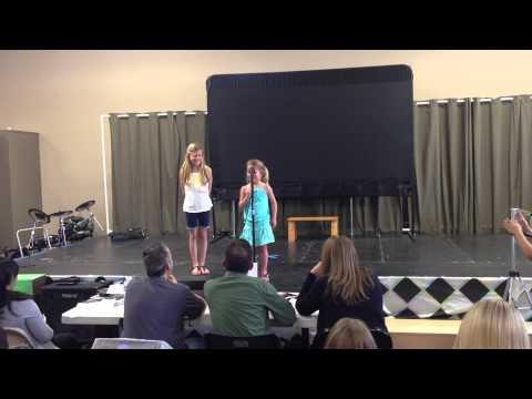 Kayla's Annie Audition