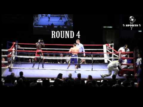 Jonathan Chicas Vs Virgil Green  6/11/16    (Tacoma, Washington) Pro Boxing