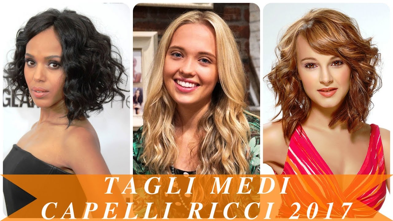 Préférence Tagli medi capelli ricci 2017 - YouTube PW66