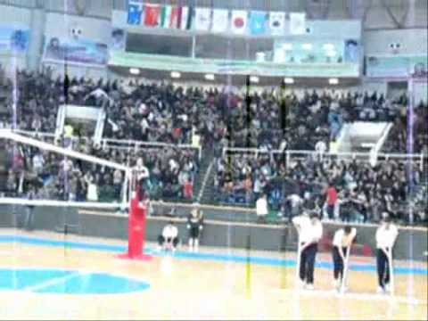 urmia Volleyball Spectators.wmv