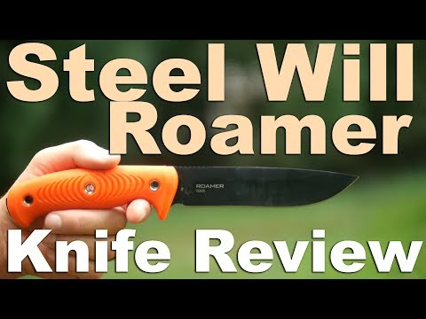 Steel Will R305 Roamer Fixed Blade Knife Review or Welcome to Basil's Death Cult.