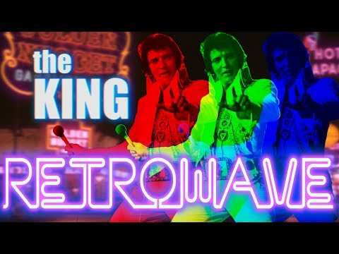 Elvis Presley — Viva Las Vegas (Retrowave)