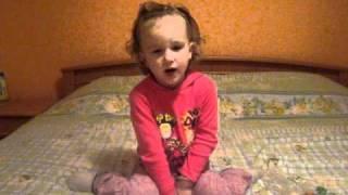 Dobro vece bakice - Jovana Radovic 2 god i 5 meseci - Kosovska Mitrovica.avi