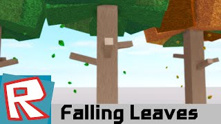 [ROBLOX Building] - Falling Leaves Particles