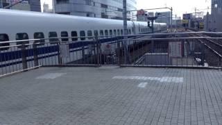 名古屋駅列車到着状況 20170317