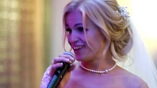 Кавер песни Грибы Тает лёд - про Донбасс и Карпаты. Реп на свадьбе от невесты и жениха.