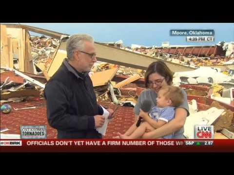 CNN's Wolf Blitzer to atheist tornado survivor: 'You gotta thank the Lord'