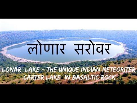 Lonar crater lake...An ancient mythological lake of India