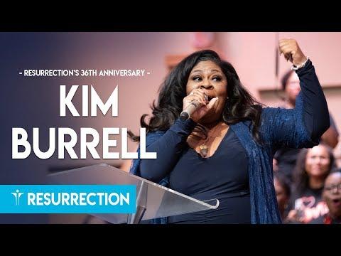 Kim Burrell at Resurrection Church's 36th Anniversary