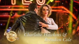 Charlotte Hawkins and Brendan Cole Tango to 'Danger Zone' - Strictly Come Dancing 2017