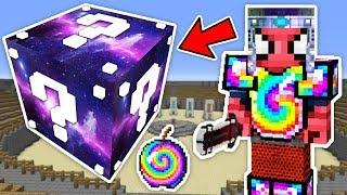 UZAY ŞANS BLOKLARI CHALLENGE - Minecraft (Uzay Eşyaları,Uzay Silahı)