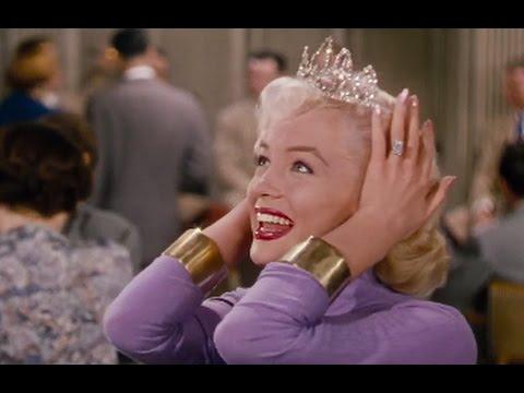 """Gentlemen Prefer Blondes 1953 """"it's a tiara"""" scene hd"""