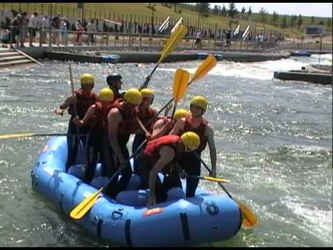 Wildwasser rafting leipzig