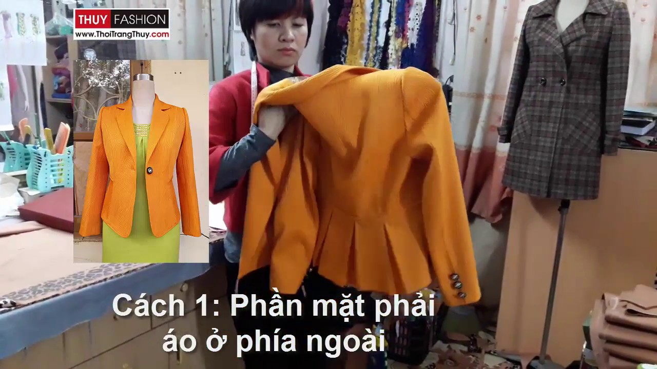 Kết quả hình ảnh cho Cách gấp nhanh áo vest áo khoác không bị nhăn
