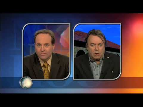 Christopher Hitchens   2009   On PBS discussing the fate of the Parthenon marbles