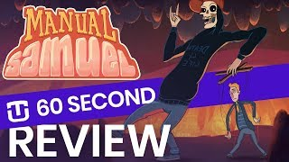 60 Second Review: Manual Samuel (Perfectly Paranormal)