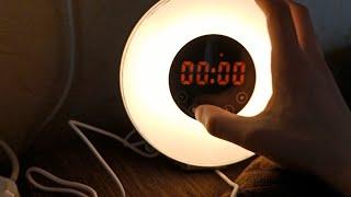 Обзор на будильник рассвет с алиэкспресса