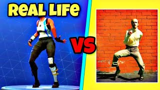 Boneless Dance | Knochenlos Tanz im Real Life! ☠️ | Fortnite Battle Royale