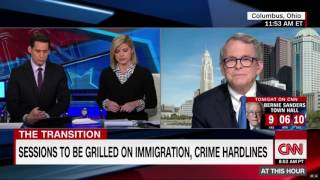 Mike DeWine CNN Interview - U.S. Senator Jeff Sessions for U.S. Attorney General