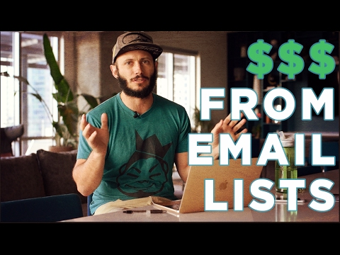 How to make money from your email list