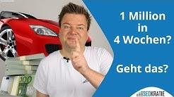 Stimmt es wirklich, dass Du 1 Million  Euro in vier Wochen verdienen kannst? | Seokratie