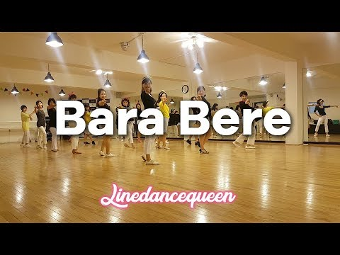 Bara Bere Line Dance (Beginner) Rudy Honing Demo & Count