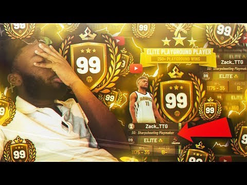 99 OVERALL AND I STREAM SNIPED THIS STREAMER AND YOU WONT BELIEVE WHAT HAPPEN .. NBA 2K19
