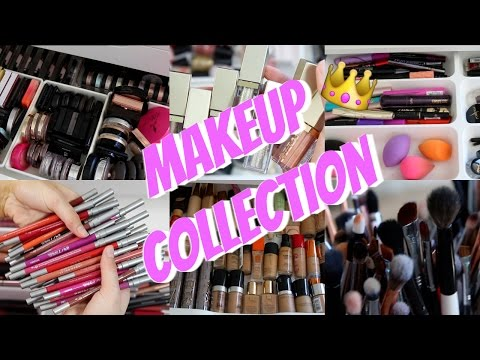 My Makeup Collection & Storage 2017 | SHANI GRIMMOND