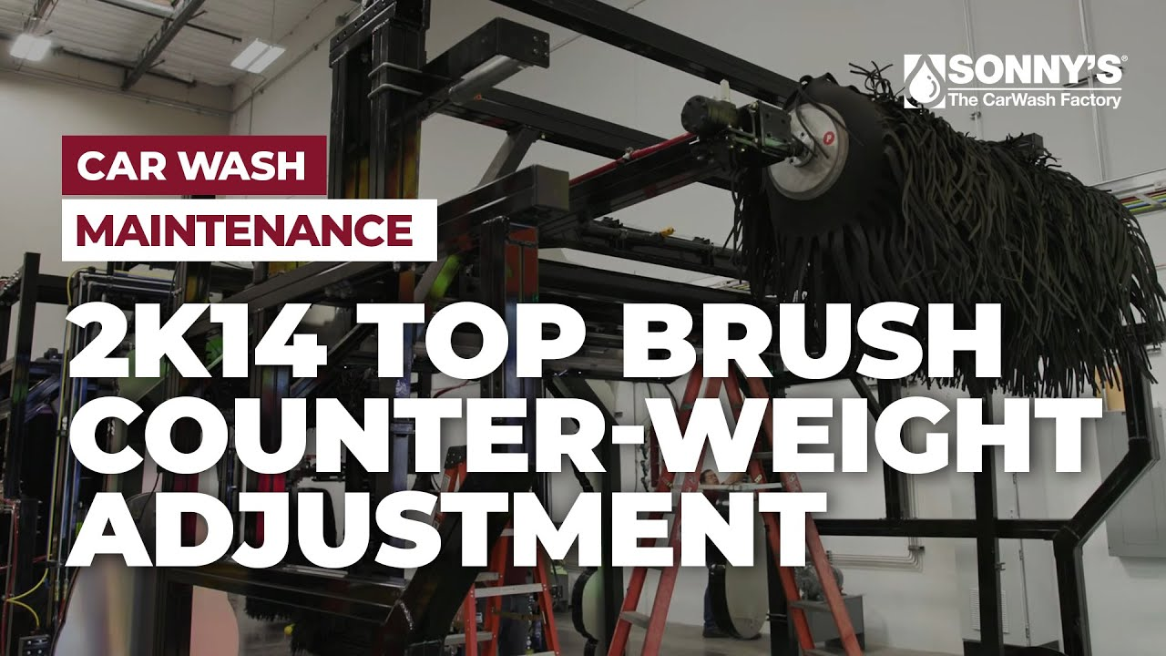 Sonny's 2K14 Top brush   Counter-Weight Adjustment