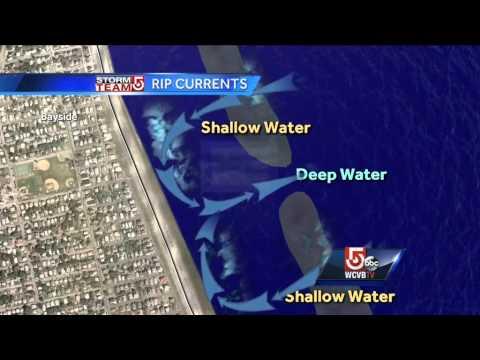 Rip current danger declared for Massachusetts beaches
