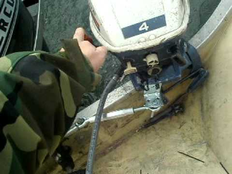 Evinrude Johnson 4 Hp Kicker On 16 Starcraft With