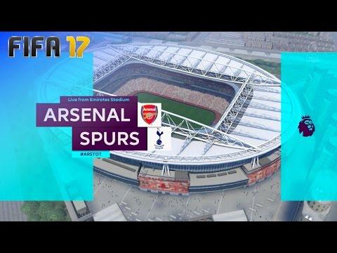 FIFA 17 - Arsenal vs. Tottenham Hotspur @ Emirates Stadium