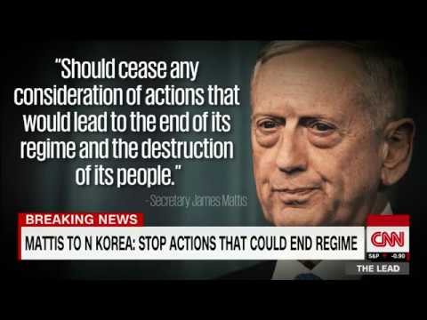 Download Youtube: Gen. Mattis delivers stern warning to North Korea