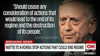 Gen. Mattis delivers stern warning to North Korea thumbnail