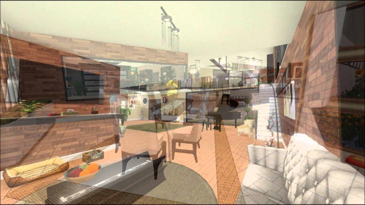 (Sims 3)-Maison moderne de ville