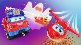 Фото Сказка из игрушек про Хэллоуин   Мультик Супер крылья Джетт и Машины страшилки