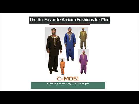 Favorite Men's African clothing from Africa Imports